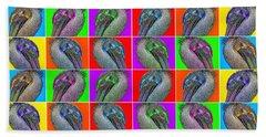 Contemporary Pelicans II Hand Towel by Betsy Knapp