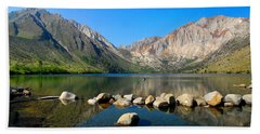 Convict Lake Panorama Bath Towel
