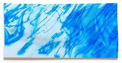 Cool Blue Bath Towel