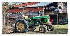 Coosaw - John Deere Tractor Bath Towel