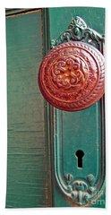 Copper Door Knob Hand Towel