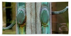 Copper Doorknobs Hand Towel