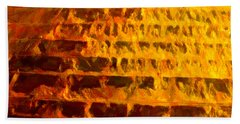Copper Hoppers Hand Towel