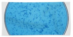 Copper II Sulphate Crystals Forming Hand Towel