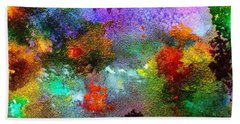 Coral Reef Impression 1 Hand Towel