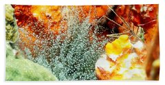 Bath Towel featuring the photograph Corkscrew Anemone Grove by Amy McDaniel