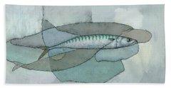 Cornish Mackerel Hand Towel