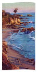 Corona Del Mar Newport Beach California Bath Towel
