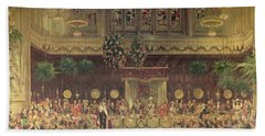 Coronation Luncheon For King George V And Queen Mary In Guildhall, 29th June 1911, 1914-22 Oil Bath Towel