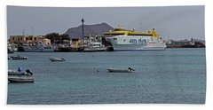 Corralejo Harbour Bath Towel