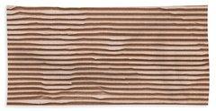 Corrugated Cardboard Bath Towel