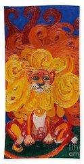 Cosmic Lion Hand Towel