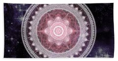 Cosmic Medallions Fire Bath Towel