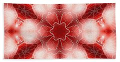 Bath Towel featuring the digital art Cosmic Spiral Kaleidoscope 22 by Derek Gedney