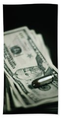 Cost Of One Bullet Bath Towel