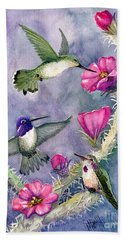 Costa Hummingbird Family Hand Towel