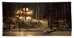 Cottage Country - Winter Bath Towel