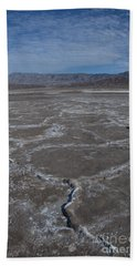 Cottonball Basin At Death Valley Bath Towel