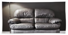 Couch And Lamp Bath Towel