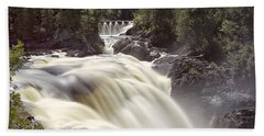 Coulonge Falls Hand Towel by Eunice Gibb
