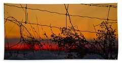 Country Fence Hand Towel