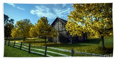Country Landscape Painting Hand Towel by Marvin Blaine
