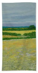 Country Road Hand Towel by Gail Kent