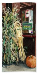 Bath Towel featuring the painting Country Store by Barbara Jewell