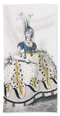 Court Dress, Fig No.130 From The Bath Towel