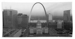 Courthouse & Memorial Arch, St. Louis Hand Towel