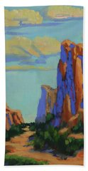 Courthouse Rock In Sedona Hand Towel