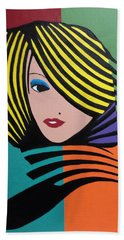 Cover Girl Bath Towel