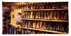 Cowboy Boots Hand Towel