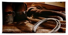 Cowboy Horseshoe Hand Towel