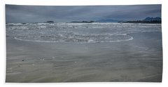 Cox Bay Late Afternoon  Hand Towel by Roxy Hurtubise