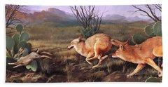 Coyote Run Hand Towel