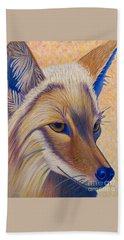 Coyote Summer Bath Towel