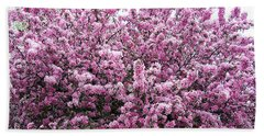 Crab Apple Tree Bath Towel