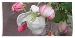 Crabapple Blossoms Miniature Hand Towel