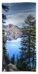 Crater Lake 1 Bath Towel