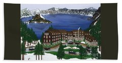 Crater Lake National Park Bath Towel