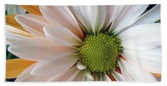 Hand Towel featuring the photograph Creamsicle by Jean OKeeffe Macro Abundance Art