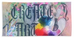 Create Art Bath Towel