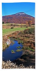 Creek In The Valley Hand Towel
