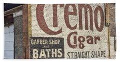 Cremo Cigar Bath Towel by Cathy Anderson