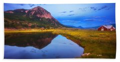 Crested Butte Morning Hand Towel
