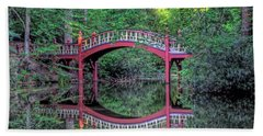 Crim Dell Bridge In Summer Hand Towel