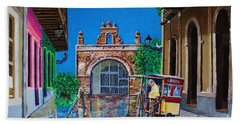 Hand Towel featuring the photograph Capilla De Cristo - Old San Juan by The Art of Alice Terrill