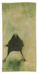 Crow 6 Hand Towel