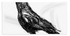 Crow  Bath Towel